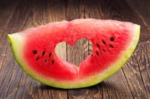 Not many fruits say JUICY quite like Watermelon does.. mmmmm...