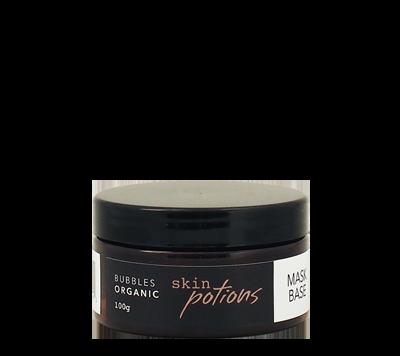 bubbles skin potions organic face mask base