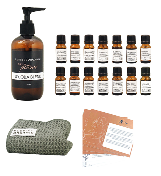 skin potions essential oils package